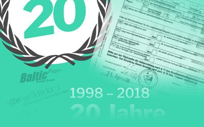04/2018: 20jähriges Jubiläum